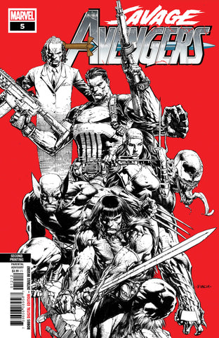 SAVAGE AVENGERS #5 2nd Print David Finch Variant (10/09/2019) MARVEL