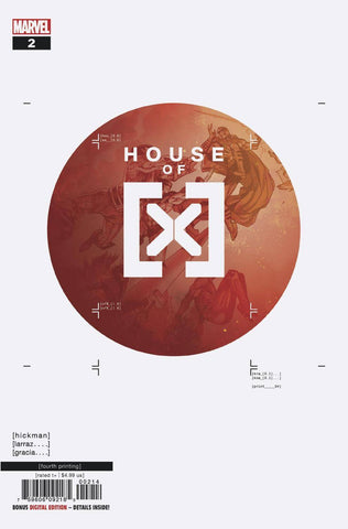 HOUSE OF X #2 (OF 6) 4th Print Pepe Larraz Variant (10/23/2019) MARVEL