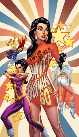 WONDER WOMAN #750 D 1960 J Scott Campbell Variant (01/22/2020) DC