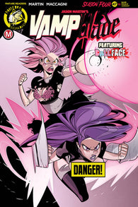 VAMPBLADE SEASON 4 #10 B Marco MACCAGNI RISQUE Variant (MR) (03/18/2020) ACTION LAB - DANGER ZONE