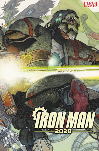 IRON MAN 2020 #2 D (OF 6) Simone BIANCHI CONNECTING Variant (02/12/2020) MARVEL