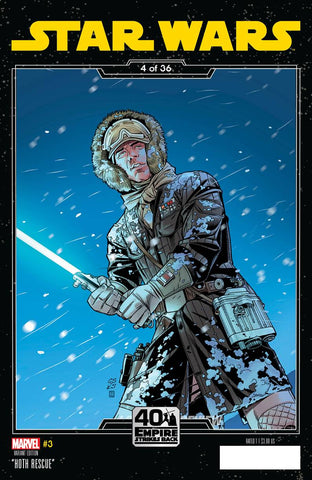 STAR WARS #3 B Chris SPROUSE EMPIRE STRIKES BACK Variant (02/26/2020) MARVEL