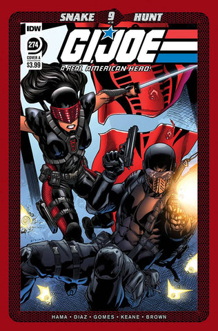 GI JOE A REAL AMERICAN HERO #274 A Robert ATKINS (C: 1-0-0) (09/02/2020) IDW