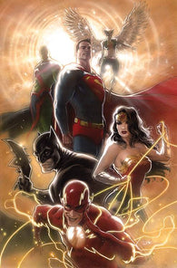JUSTICE LEAGUE #43 B CARD STOCK KAARE ANDREWS Variant (03/18/2020) DC