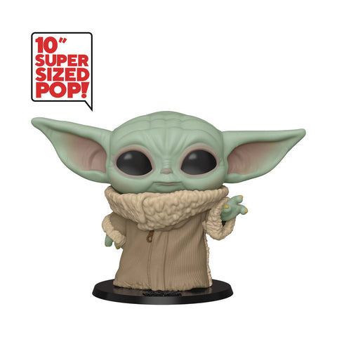 "Star Wars Mandalorian Baby Yoda The Child 10"" Pop Vinyl Figure (05/27/2020) FUNKO"