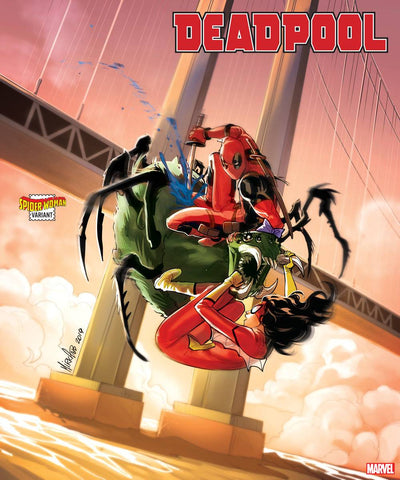 DEADPOOL #5 B Mirka ANDOLFO SPIDER-WOMAN Variant (06/10/2020) MARVEL
