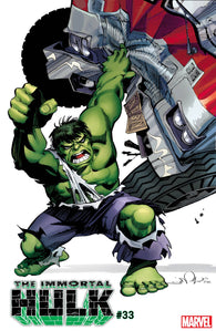 IMMORTAL HULK #33 1:100 Walter SIMONSON HIDDEN GEM Variant (03/25/2020) MARVEL