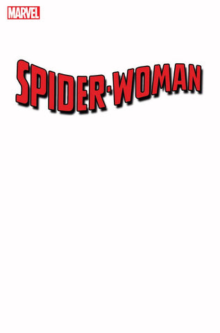 SPIDER-WOMAN #1 G BLANK Variant (03/18/2020) MARVEL