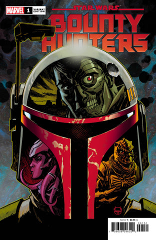STAR WARS BOUNTY HUNTERS #1 1:50 Dave JOHNSON Variant (03/11/2020) MARVEL
