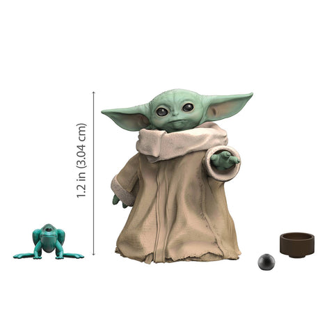 "Star Wars Mandalorian Black Series Baby Yoda The Child 6"" Scale 1.2"" Action Figure (05/06/2020) HASBRO"