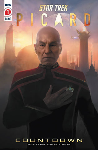 STAR TREK PICARD COUNTDOWN #1 2nd Print Angel Hernandez Variant (01/29/2020) IDW