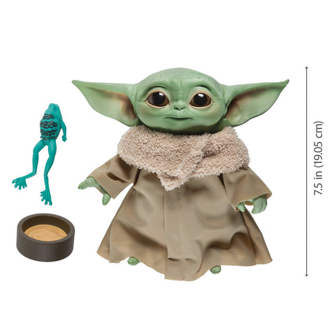 Star Wars Mandalorian Baby Yoda The Child Talking Plush Toy Figure (05/06/2020) HASBRO