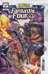 Fantastic Four #21 D Patrick Zircher Confrontation Variant Emp (04/22/2020) Marvel