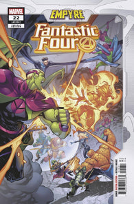 Fantastic Four #22 B Iban Coello Empyre Variant Emp (08/05/2020) Marvel