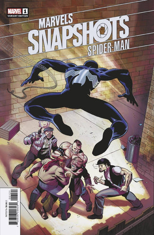 Spider-Man Marvels Snapshot #1 1:50 Larry Lieber Hidden Gem Variant (10/07/2020) Marvel
