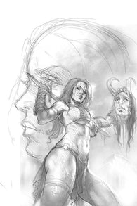 RED SONJA AGE OF CHAOS #3 1:15 Lucio PARRILLO SKETCH Virgin Variant (03/18/2020) DYNAMITE