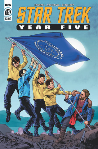 Star Trek Year Five #15 A Stephen Thompson (10/07/2020) IDW