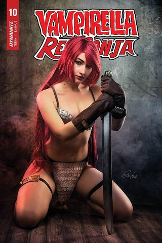 Vampirella Red Sonja #10 D Bloom Cosplay Variant (08/26/2020) Dynamite