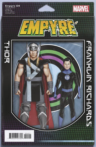 Empyre #4 E (Of 6) John Tyler Christopher 2-Pack Action Figure Variant (06/03/2020) Marvel