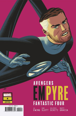 Empyre #4 C (Of 6) Michael Cho FF Variant (06/03/2020) Marvel