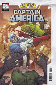 Empyre Captain America #2 B (Of 3) Luke Ross Variant (08/12/2020) Marvel