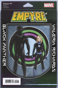 Empyre #5 E (Of 6) John Tyler Christopher 2-Pack Action Figure Variant (08/12/2020) Marvel