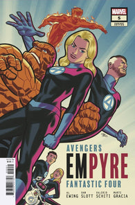 Empyre #5 C (Of 6) Michael Cho FF Variant (08/12/2020) Marvel