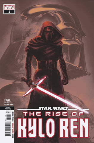 STAR WARS RISE KYLO REN #1 (OF 4) 4th Print Clayton Crain Variant (07/22/2020) MARVEL