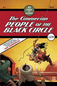 Cimmerian People Of Black Circle #1 E Fritz Casas Detective Comics 27 Homage Variant (08/26/2020) Ablaze