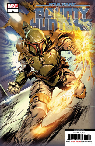 STAR WARS BOUNTY HUNTERS #1 2nd Print Paolo Villanelli Variant (07/29/2020) MARVEL