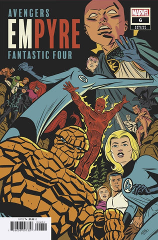 Empyre #6 C (Of 6) Michael Cho Fantastic Four Variant (09/02/2020) Marvel