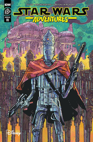 Star Wars Adventures Annual 2020 1:10 Nick Brokenshire Variant (Net) (C: 1-0- (09/09/2020) IDW