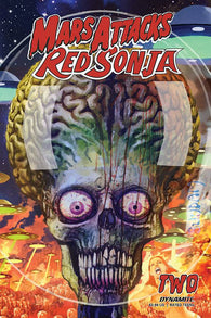 Mars Attacks Red Sonja #2 B Arthur Suydam Variant (09/16/2020) Dynamite