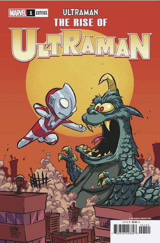 Rise Of Ultraman #1 C (Of 5) Skottie Young Variant (09/09/2020) Marvel