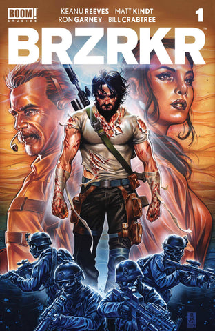 Brzrkr (Berzerker) #1 B Mark Brooks Variant Keanu Reeves (Mr) (03/03/2021) Boom