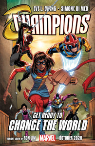 Champions #1 D (Of 5) Ron Lim Variant (10/07/2020) Marvel