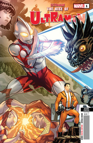 Rise Of Ultraman #1 (Of 5) 2nd Print Variant (11/04/2020) Marvel
