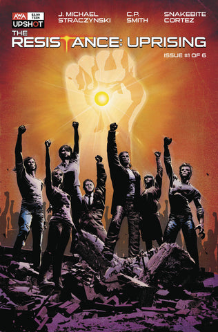 Resistance Uprising #1 B Mike Deodato Jr (04/07/2021) Artists Writers & Artisans