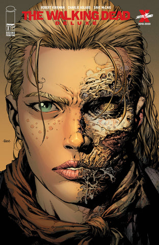 Walking Dead Dlx #5 2nd Print David Finch Headshot Variant (Mr) (02/24/2021) Image