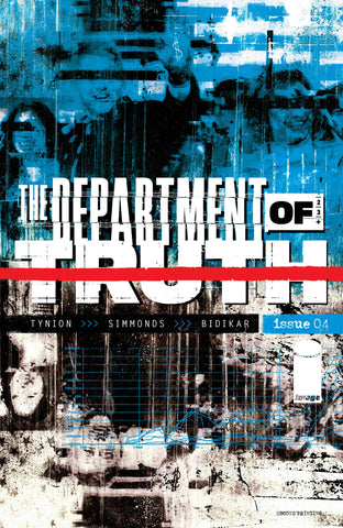 Department Of Truth #4 2nd Print Martin Simmonds Variant (Mr) (03/24/2021) Image