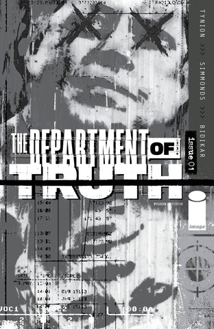 Department Of Truth #1 4th Print Martin Simmonds Variant (Mr) (03/24/2021) Image