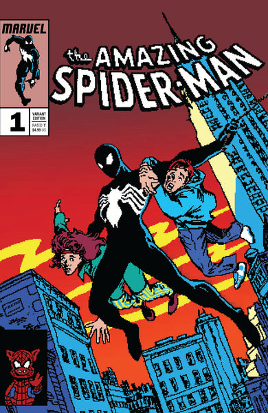SYMBIOTE SPIDER-MAN #1 16 Bit Matthew Waite Variant Amazing Spider-Man 252 Homage (04/10/2019) MARVEL