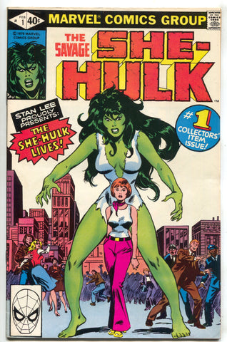 She-Hulk 1 1st Series Marvel 1980 VF 1st Appearance Stan Lee John Buscema