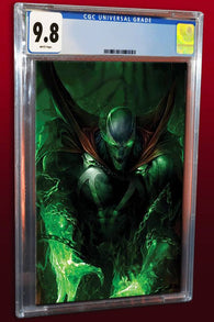 SPAWN #284 Francesco Mattina Virgin Variant Todd McFarlane CGC 9.8 (04/04/2018)
