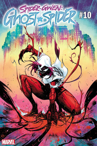 SPIDER-GWEN GHOST SPIDER #10 Iban COELLO CARNAGE-IZED Variant (07/03/2019) MARVEL