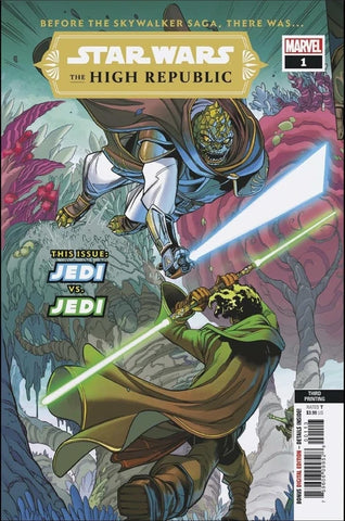 Star Wars High Republic #1 (Of 6) 3rd Print Variant (02/10/2021) Marvel