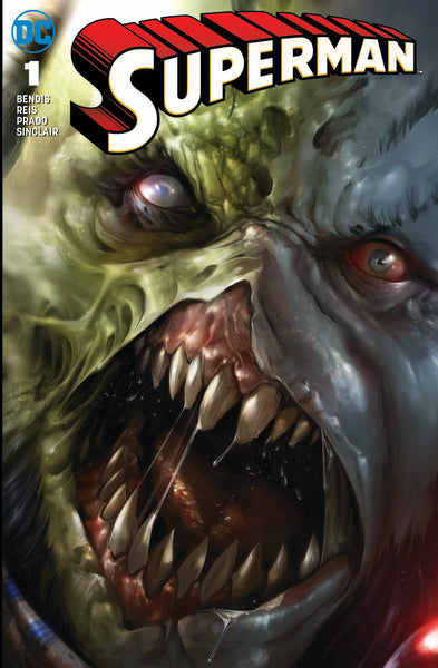 Superman 1 DC Francesco Mattina Rogol Zaar Trade Minimal Variant (07/11/2018)