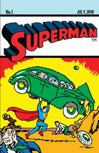 Superman 1 DC Matthew Waite Action Comics 1 16 Bit Homage Variant (07/11/2018)