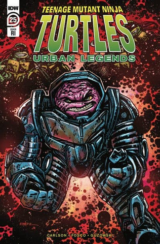 Tmnt Urban Legends #25 1:10 Kevin Eastman Variant Teenage Mutant Ninja Turtles (Net) (07/22/2020) IDW