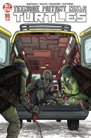 TMNT ONGOING #95 2nd Print Ben Bishop Variant Teenage Mutant Ninja Turtles (08/07/2019) IDW